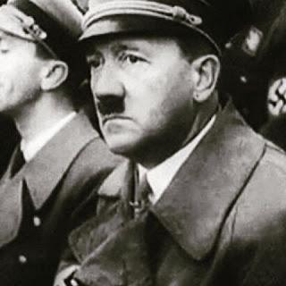 Adolf Hitler frowning worldwartwo.filminspector.com