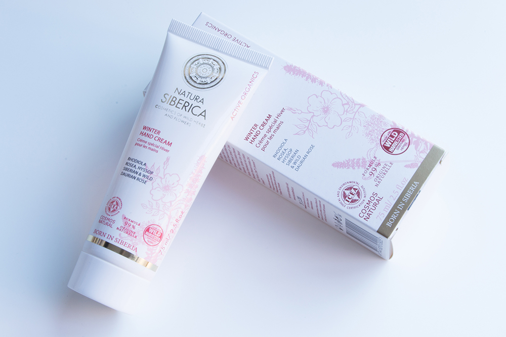 Winter Hand Cream, Natura Siberica