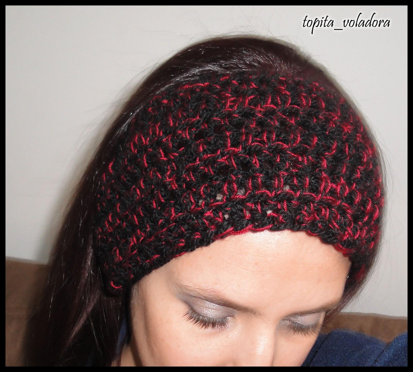 Tejidos A Crochet Ganchillo Punto - Diadema-ganchillo
