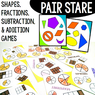 https://www.teacherspayteachers.com/Product/Math-Stations-BUNDLE-Addition-and-Subtraction-Shapes-Fractions-1631305?aref=6s2wgl5f