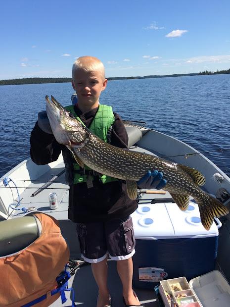 Red Lake Fishing Reports Ontario Monster Northern Pike