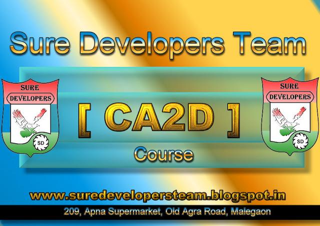Certificate in AutoCAD 2D [CA2D]