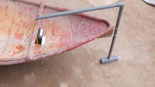 membuat sendiri mesin perahu kecil dari dinamo 12 volt