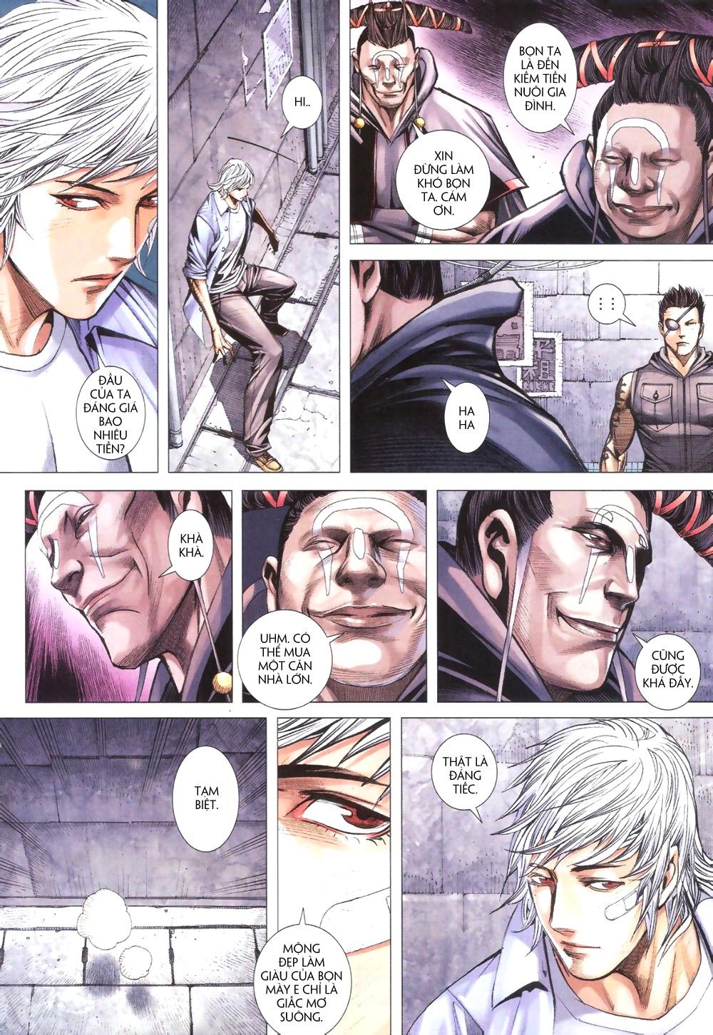Đại Quân Phiệt chap 9 trang 8