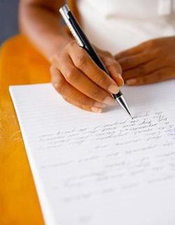 образец написания сочинения по литературе