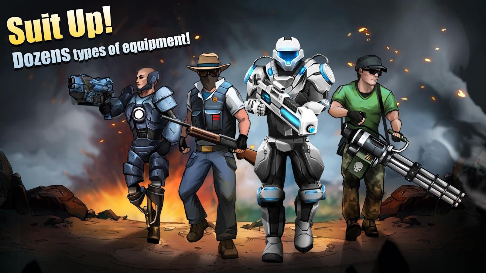 Flat Army Sniper War MOD APK terbaru