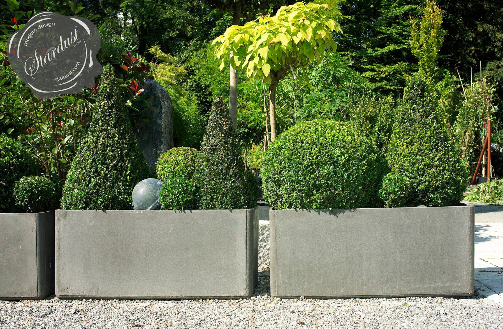 Extra Large Rectangular Designer Planter Pots - Modern ...
