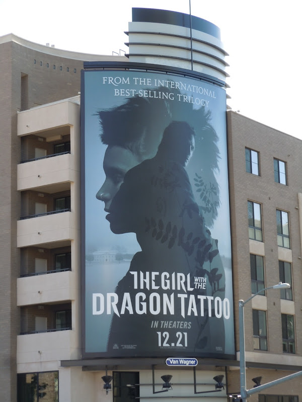 The Girl with the Dragon Tattoo billboard