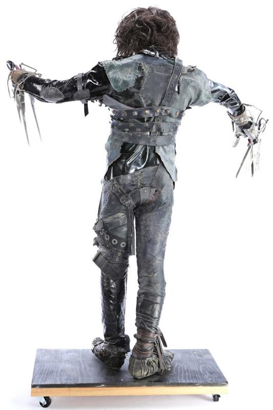 Johnny Depp Edward Scissorhands costume back
