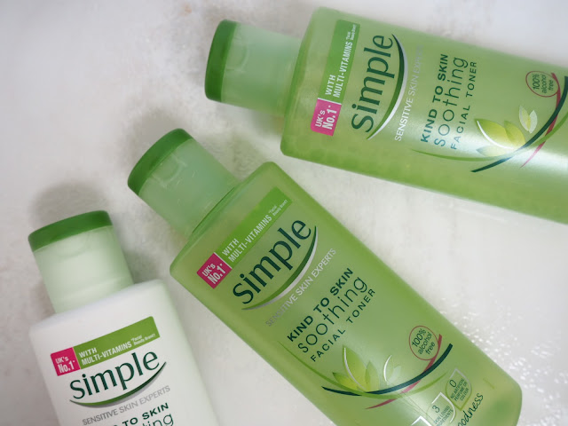 Soothing Simple Facial Toner review