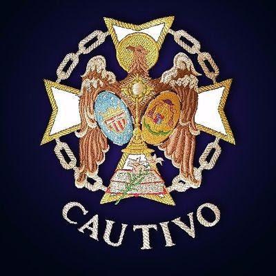 Escudo de la Banda de Cornetas y Tambores de la Hermandad de Santa Genoveva de Sevilla