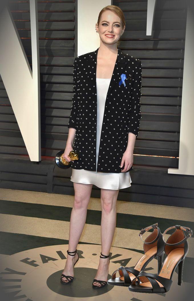 Sapatos das famosas - Emma Stone