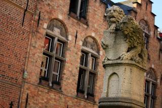 Huidenvettersplein in Bruges