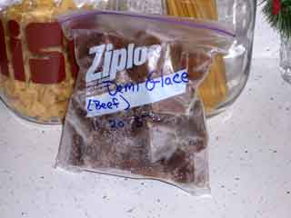 Brown Stock Demi Glace Cubes
