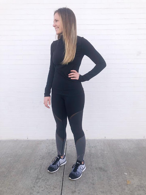 lululemon color-me-ombre-tight ethereal-mock-neck
