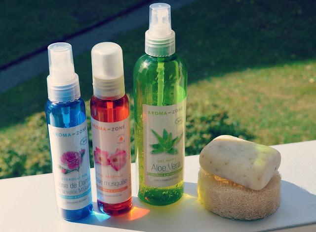 slow cosmétique, argasol, aroma zone