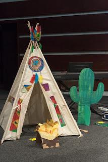 dečiji šator za igru vigvam