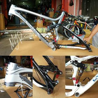 Frame sepeda mtb 26 inch BH LYNX grey