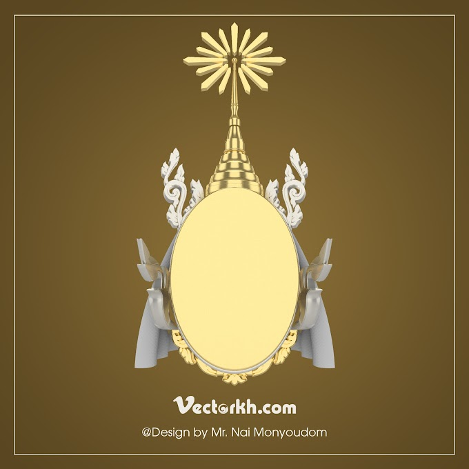 Kbach Khmer - Cambodia's King King Coronation Day - Cambodia Water Festival free vector