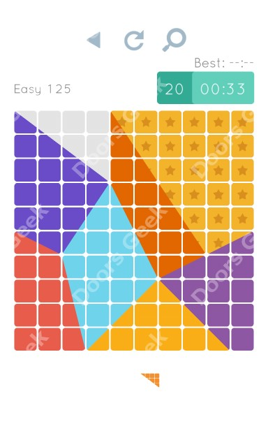 Cheats, Walkthrough for Blocks and Shapes Level 125