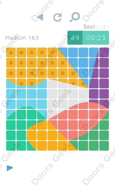 Cheats, Walkthrough for Blocks and Shapes Medium Level 163