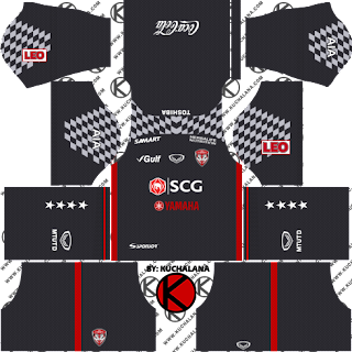 Muangthong United Kits 2018 -  Dream League Soccer Kits