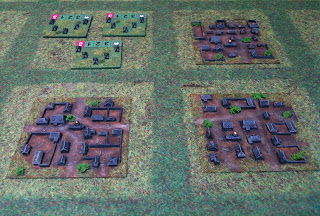 Russian Villages and Soviet tanks in 3mm