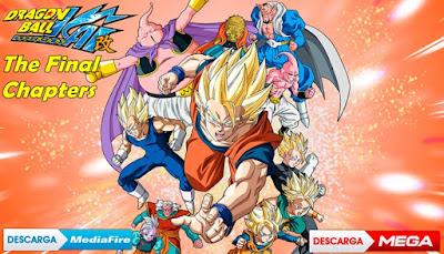 descargar dragon ball z kai the final chapters latino mega