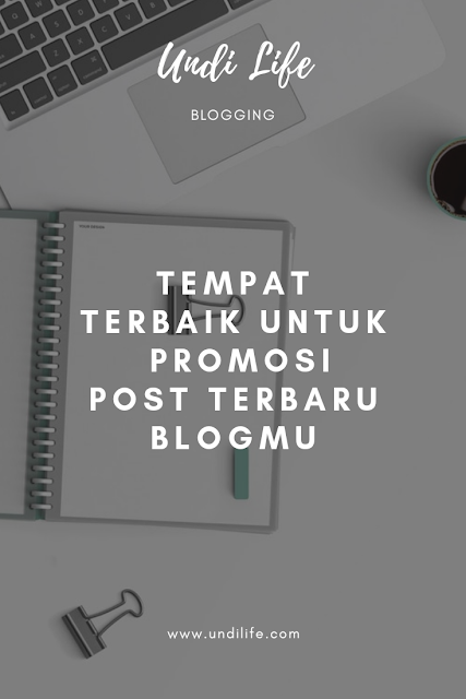 Tempat promosi blog post baru