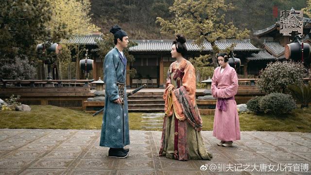 Tang Dynasty Women Yu Zheng drama