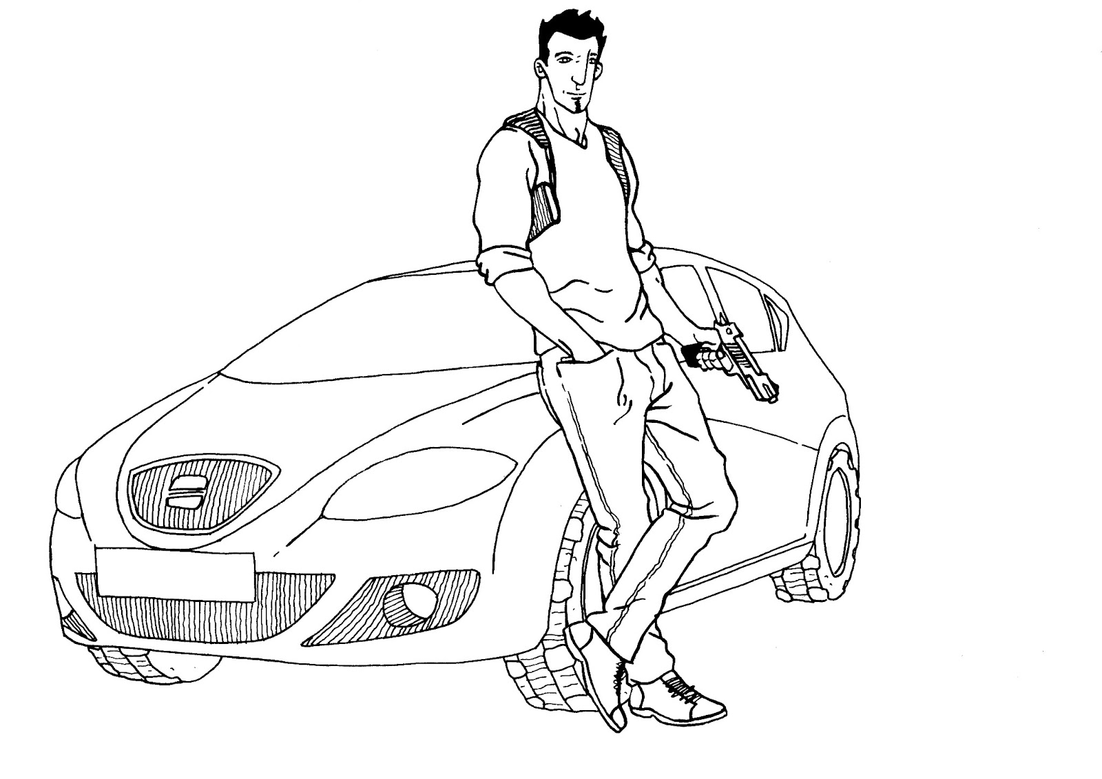 Range Rover Evoque Coloring Pages Coloring Pages