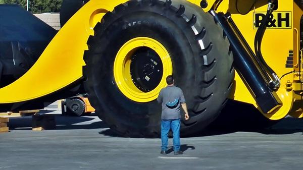 maior maquina carregadeira letorneau l2350