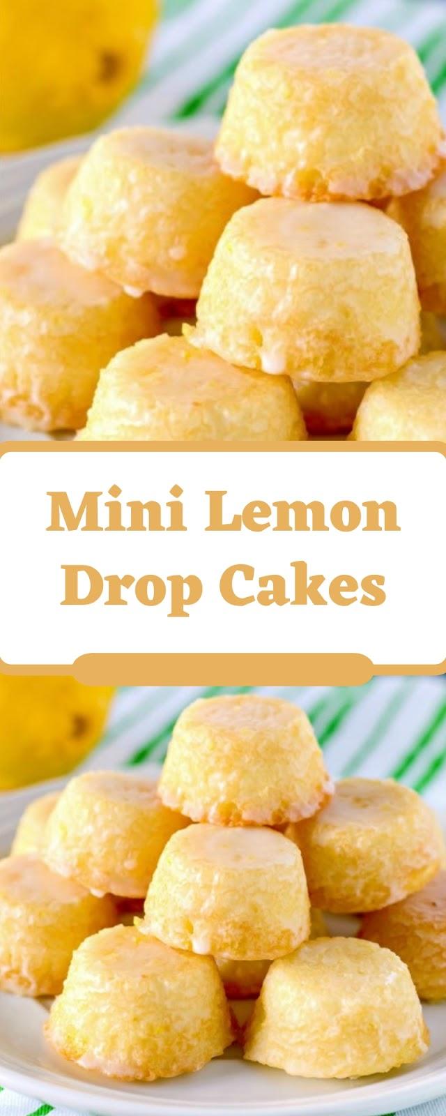 Mini Lemon Drop Cakes