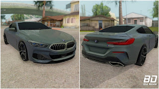Download mod carro esportivo BMW M850i coupe 2019 para GTA San Andreas