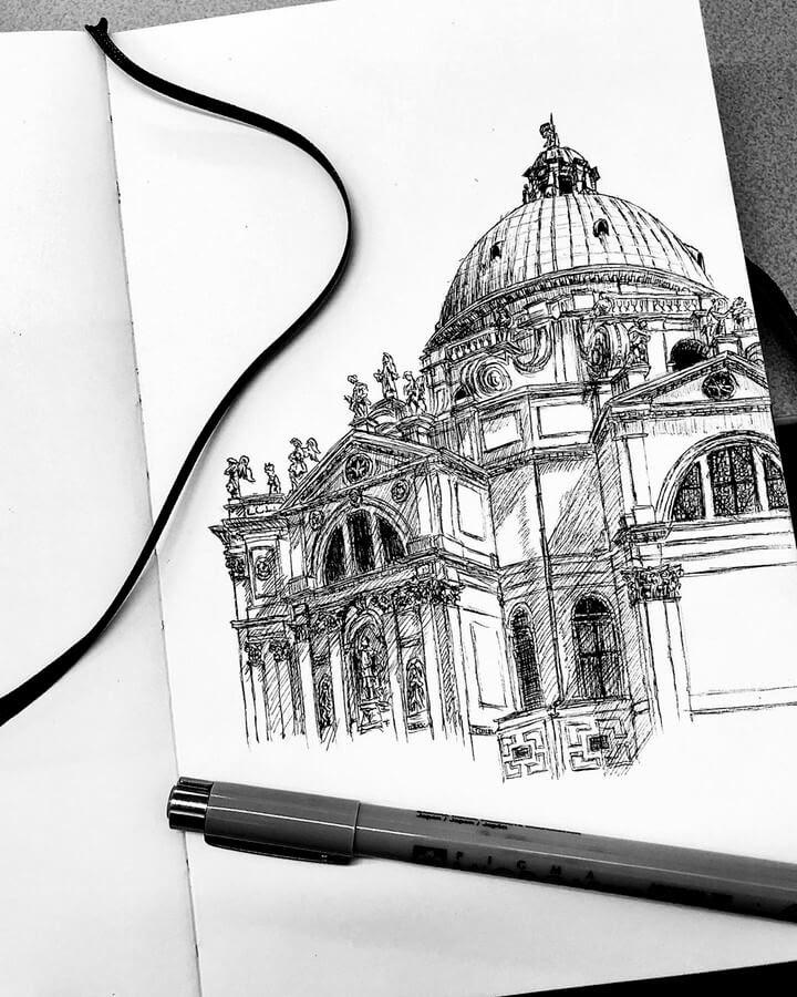 03-Santa-Maria-Della-Salute-Architectural-Drawings-Henk-Jan-www-designstack-co
