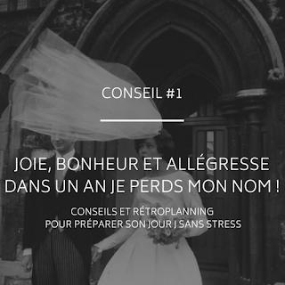 Conseils et rétroplanning pour préparer son mariage du blog mariage www.unjourmonprinceviendra26.com
