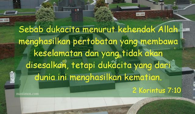Kumpulan Ayat Alkitab Penghiburan Untuk Keluarga Yang Sedang