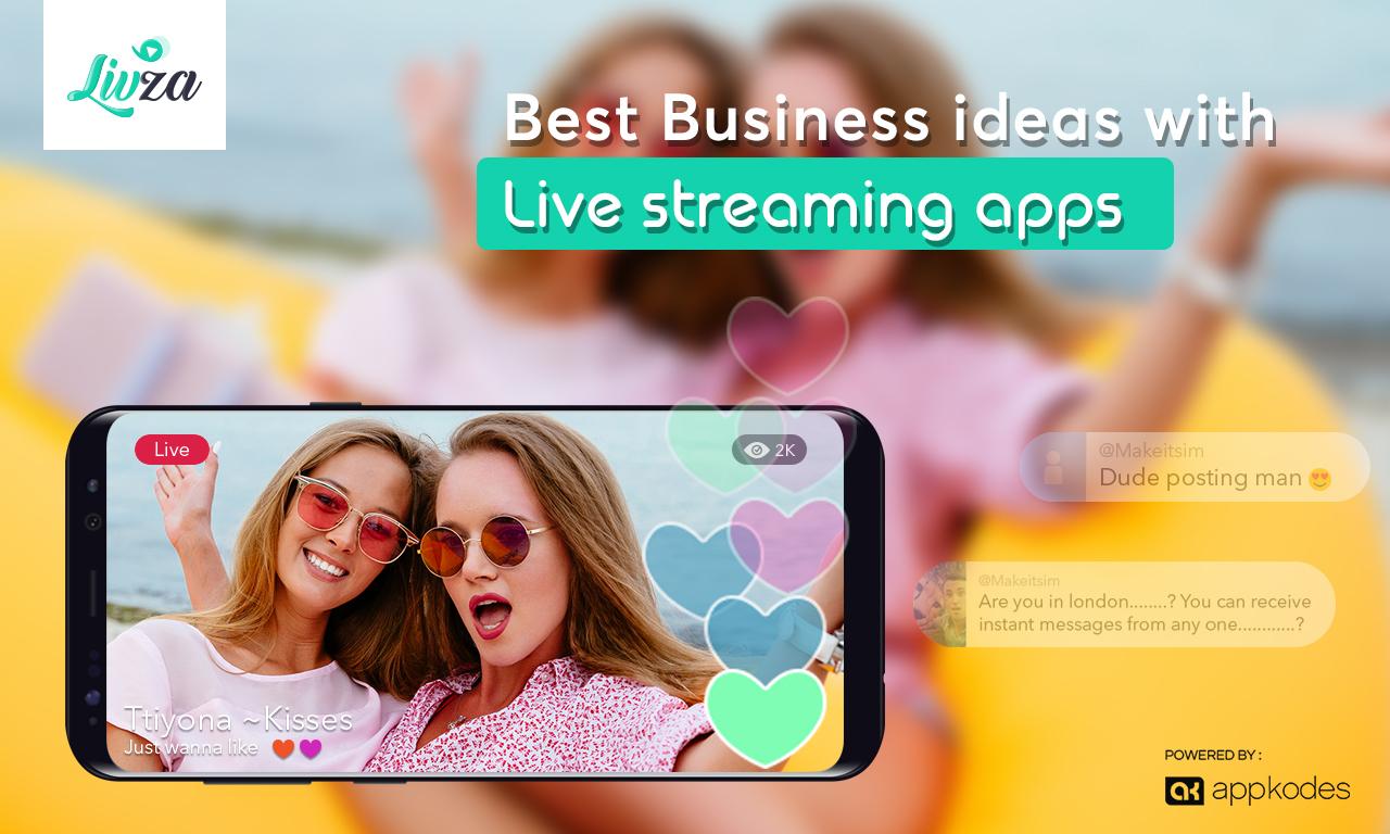 Livza - Live Streaming App