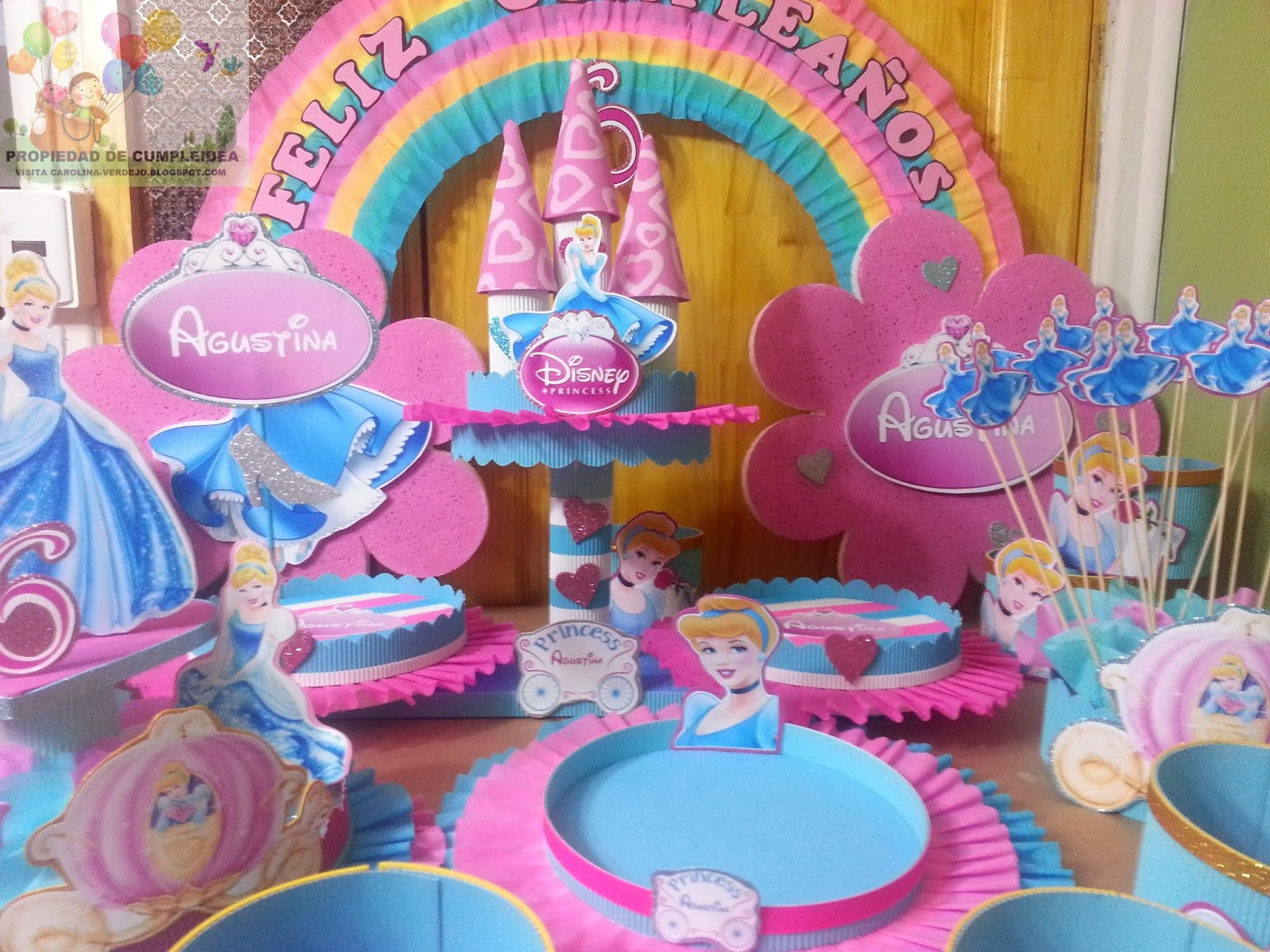 Decoraciones Infantiles Princesa Cenicienta