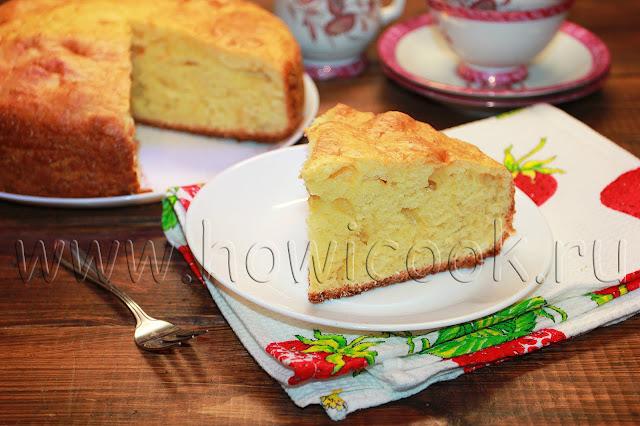 рецепт простого творожного пирога