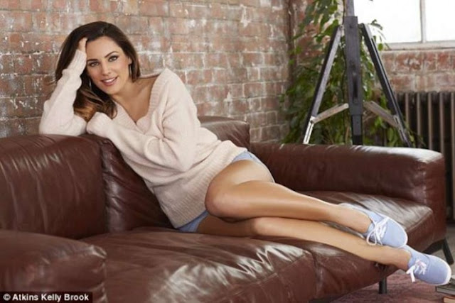 Kelly Brook – Atkins Photoshoot