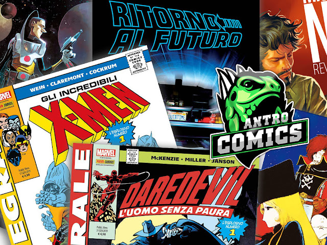 Il romanzo di Ritorno al Futuro, Mister No Revolution, Black Science, l'Antro dell'Orrore, X-Men e Daredevil Integrale
