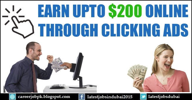 How to Earn Money Online by Clicking Ads