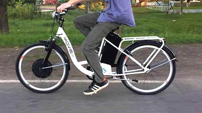 Bicicletas eléctricas en Argentina. Movex Rue 1.0