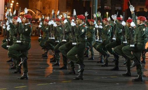Forces armes royal maroc