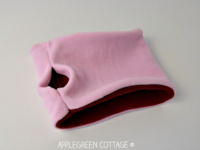 neck warmer pattern sewing