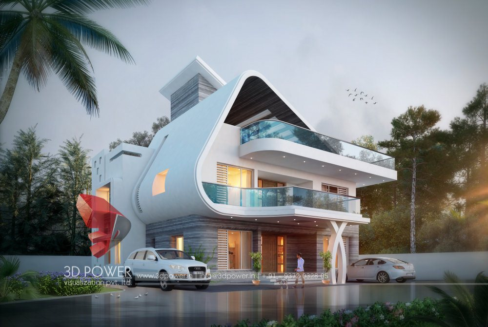 Residential towers row houses township designs villa for Latest architectural design