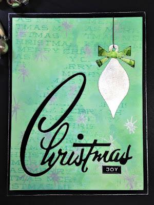 Sara Emily Barker http://sarascloset1.blogspot.com/ Retro Christmas Card Christmas Joy 5