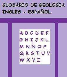 Glosario de Geologia Ingles - Español - geolibrospdf