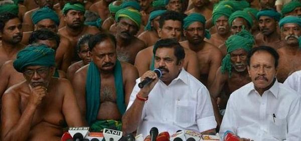New Delhi, Jantar Mantar, Tamil Nadu, Farmers, Protest, Tamil Nadu CM, Edappadi Palaniswami